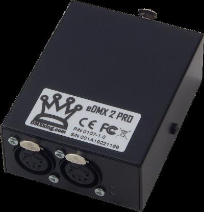 eDMX2 Pro Ethernet to DMX (POE)